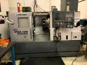 CNC Lathe , CNC Draaibank , CNC Drehmaschine Okuma LB 2000 EX gebraucht