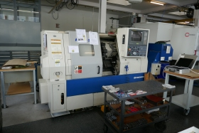 CNC Lathe , CNC Draaibank , CNC Drehmaschine Daewoo Puma 200 C gebraucht