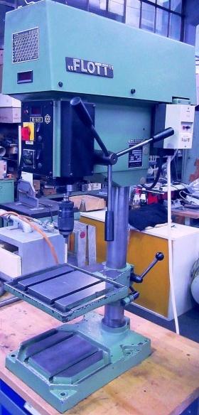 Tischbohrmaschine FLOTT TB  15  ST gebraucht