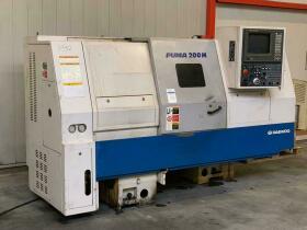CNC Lathe , CNC Draaibank , CNC Drehmaschine Daewoo Puma 200 LMA gebraucht