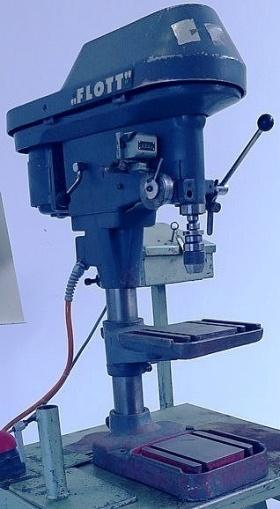 Tischbohrmaschine FLOTT TB  10 / 1 gebraucht