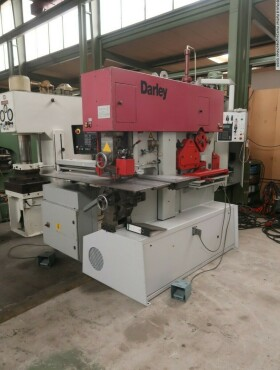 Profilstahlschere - Kombiniert DARLEY MDP 110  170 - CNC gebraucht