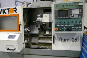 CNC Lathe , CNC Draaibank , CNC Drehmaschine Victor VTurn 26 gebraucht