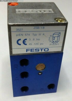 Pneumatikartikel FESTO ZSB-18-B gebraucht