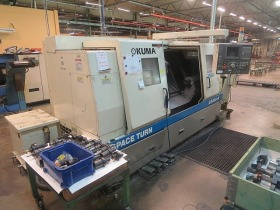 CNC Lathe , CNC Drehmaschine Okuma LB 300 M gebraucht